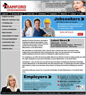 Recruitment Website Launches