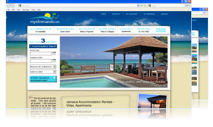 MySilverSands Jamaica Villa Website Goes Live